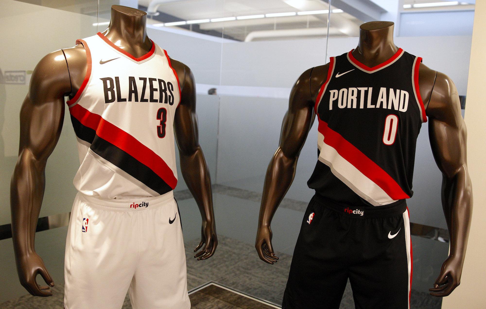 portland trail blazers jersey