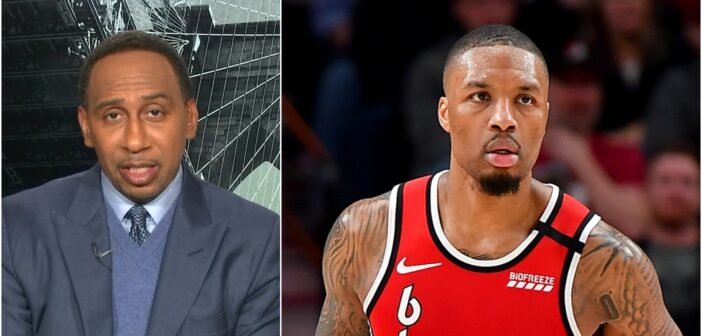 Stephen A. Smith's 'Advice' For Damian Lillard Discredits Everything Dame Does Right